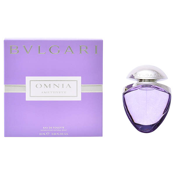 Women's Perfume Omnia Amethyste Bvlgari EDT satin pouch - 25 ml