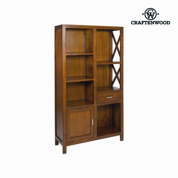 Regał Drewno / orzech - Franklin Kolekcja by Craftenwood