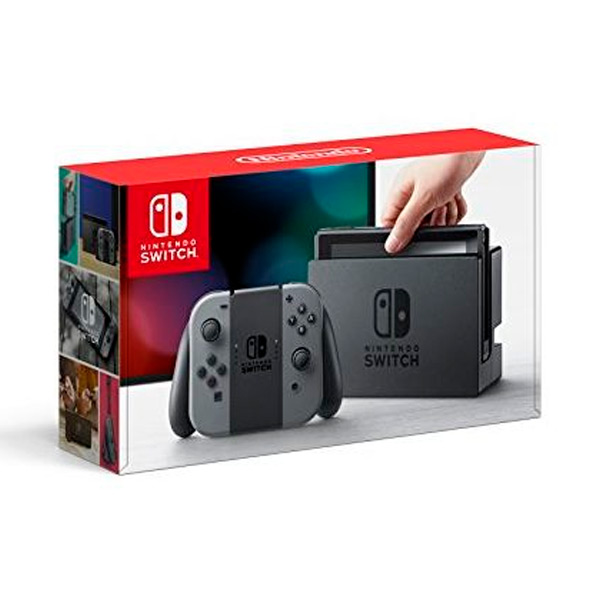 konzole Nintendo SWITCH HW Šedý