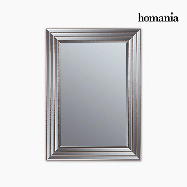 Lustro Żywica syntetyczna Szkło fazowane Srebrzysty Złoty (82 x 3 x 112 cm) by Homania