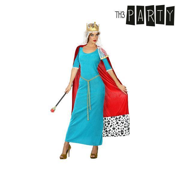 Kostium dla Dorosłych Th3 Party Średniowieczna królowa - XS/S
