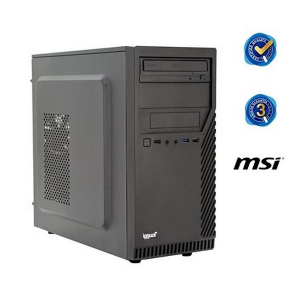 Komputer Stacjonarny iggual PSIPCH212 i3-6100 4 GB 120 SSD Bez systemu operacyjny
