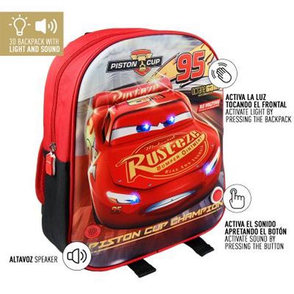 Školní batoh 3D Cars