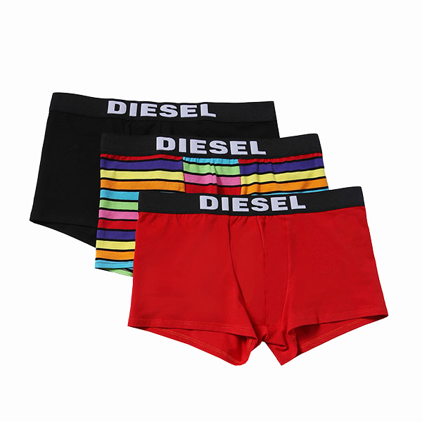 Bokserki Męskie Diesel 00SAB2-0WALL-151 (3 pary) - S