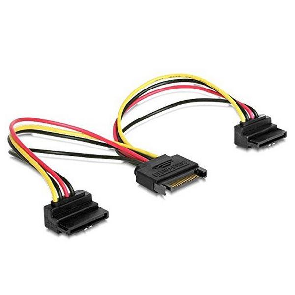 Napájecí Kabel SATA iggual APTAPC0461 IGG311783 0.15 m 90º