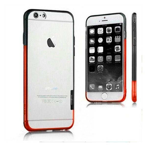 Dvojbarevný Nárazník iPhone 6 X-ONE 109888 Bílý Černý