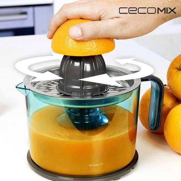 Elektrický Odšťavňovač Citrusů Cecomix Inox 4069 1 l 40W