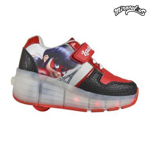 Shoes with wheels and LEDs Lady Bug 5654 (rozmiar 30)