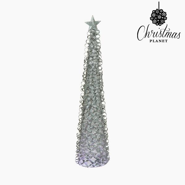 Vánoční stromeček Železo Stříbřitý (8 x 8 x 40 cm) by Christmas Planet