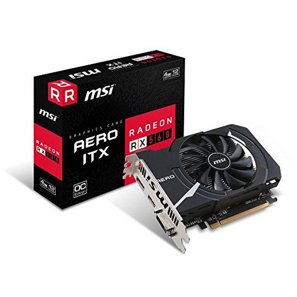Grafická karta MSI VGA AMD RX 560 AERO ITX 4G OC 4 GB DDR5