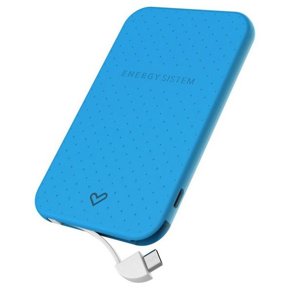 Powerbanka Energy Sistem Extra Battery 2500 424429 2500 mAh Modrý