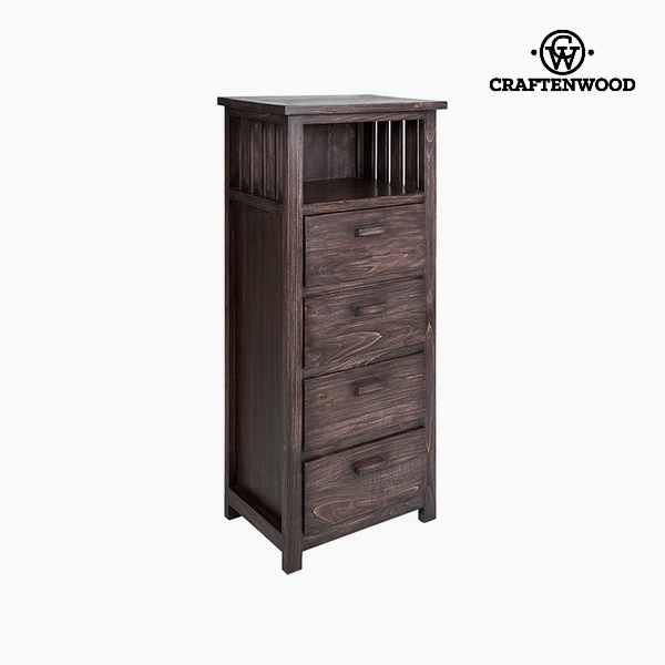 skříňka Dřevo mindi (60 x 40 x 130 cm) by Craftenwood