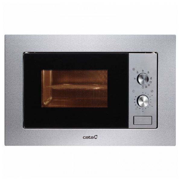 Built-in microwave with grill Cata MC20IX 20 L 800W Nerezová ocel