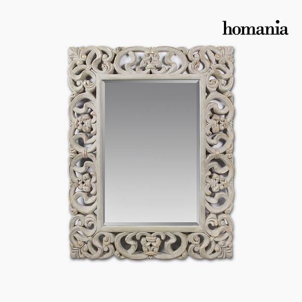 Lustro Żywica syntetyczna Szkło fazowane (130 x 5 x 100 cm) by Homania