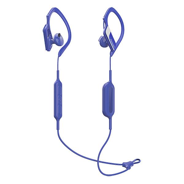 Sportovní Bluetooth Handsfree s Mikrofonem Panasonic RP-BTS10E-A Waterproof Modrý