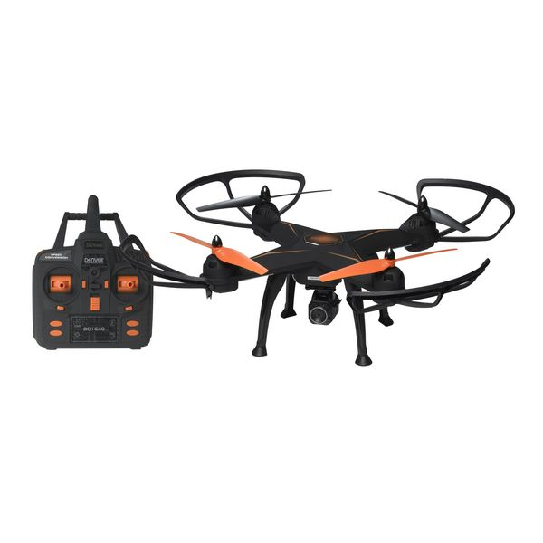 Remote control drone Denver Electronics DCH-640 2 mpx Černý