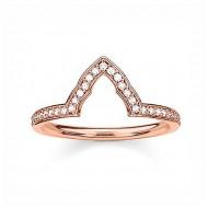 Dámsky prsteň Thomas Sabo TR2070-416-14 (17,2 mm)