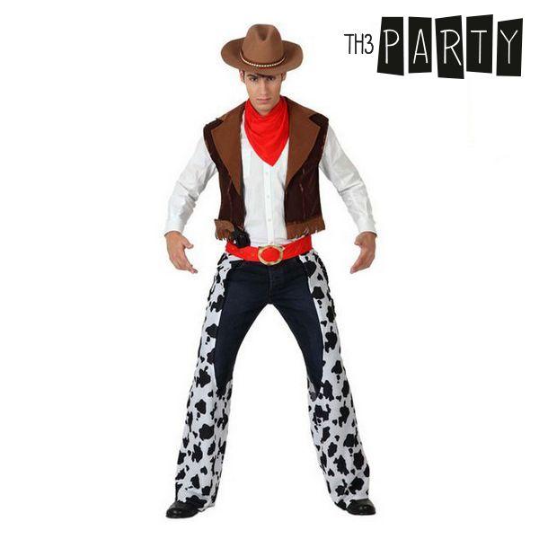 Kostium dla Dorosłych Th3 Party Kowboj - XL