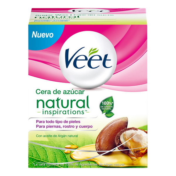 Ciepły Wosk do Depilacji Natural Inspirations Veet 250 ml