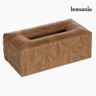 Hnědá krabička na kapesníčky by Homania