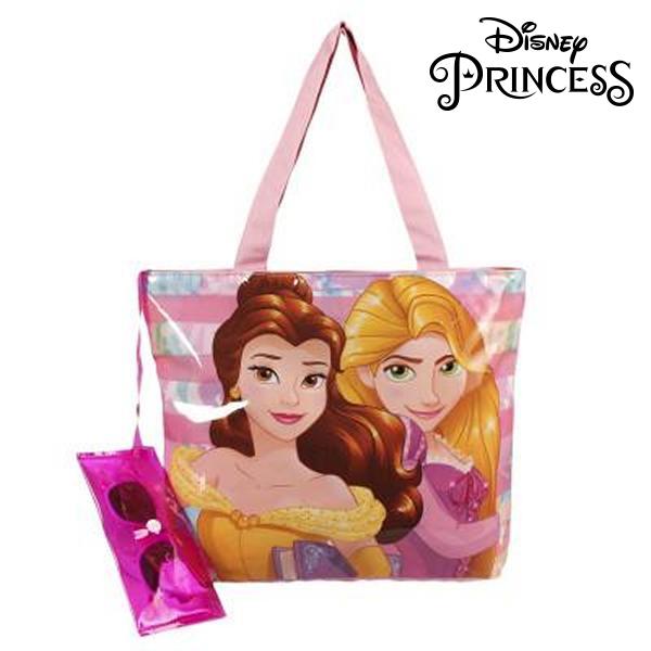 Torba plażowa i okulary przeciwsłoneczne Princesses Disney 381