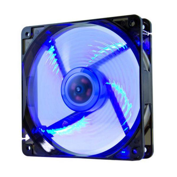 Ventilátor počítačové skříně NOX NXCFAN120LBL Cool Fan 12 cm LED Modrý
