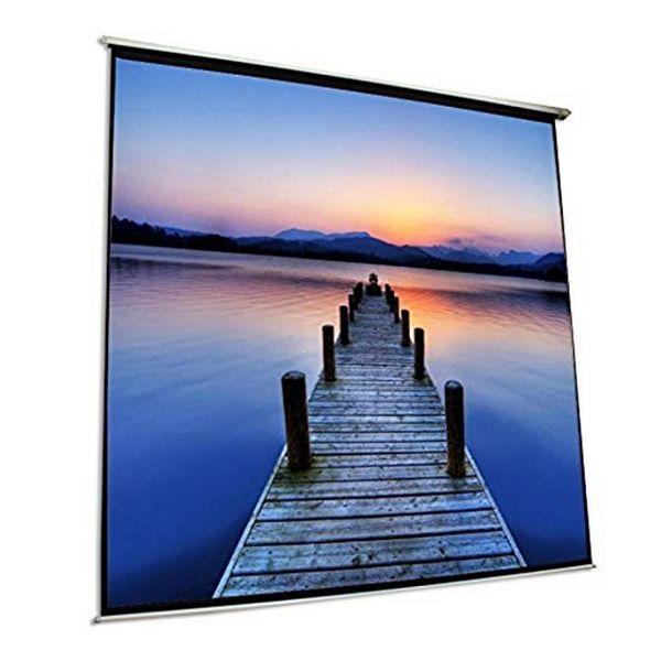 Nástěnné Elektrické Projekční Plátno iggual PSIES300 300 x 300 cm