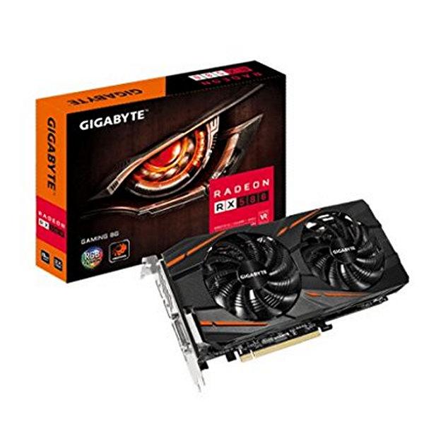 Herní grafická karta Gigabyte VGA AMD RX 580 8 GB DDR5