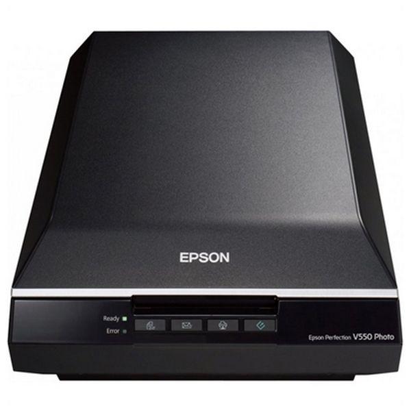 Přenosný Skener Epson Perfection V550 Photo B11B210302 6.400 ppp 3,4 Dmax A4 USB 2.0 B