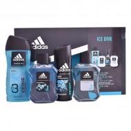 Souprava spánským parfémem Ice Dive Adidas (4 pcs)