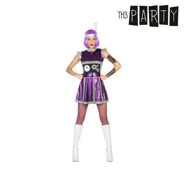 Kostým pro dospělé Th3 Party Robot - XS/S
