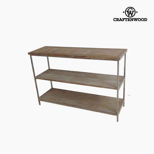 Regał Drewno tekowe (120 x 38 x 80 cm) - Art & Metal Kolekcja by Craftenwood