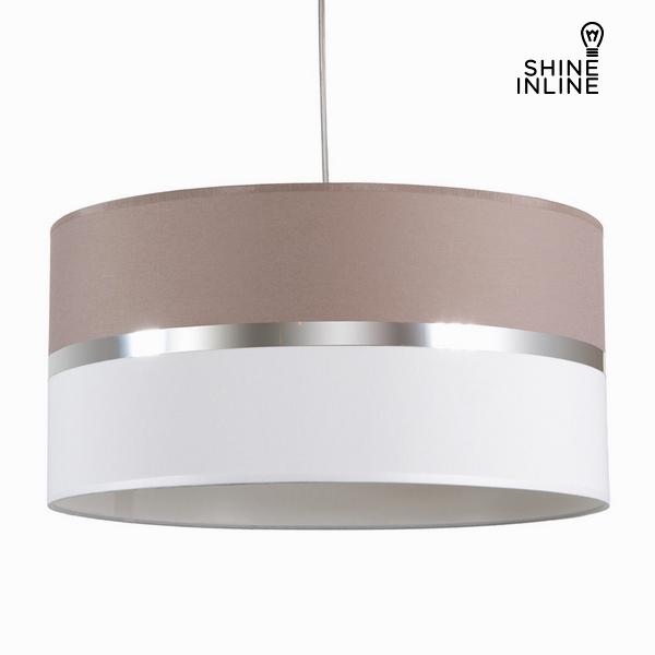 Závěsná lampa, popelová a bílá by Shine Inline