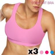 Biustonosz Comfort Spring (3 sztuki) - XL