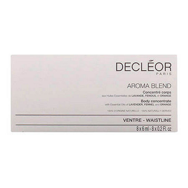 Koncentrovaný tělový olej ploché břicho Aromablend Decleor - 6 ml