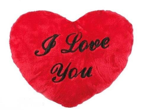 Pluszowe Serce I Love You 35 cm