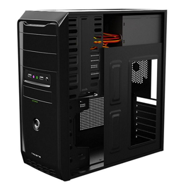 Semi Wieża ATX Tacens AC116500 AC116500 500W Czarny
