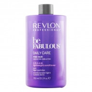 Sampon utáni tápláló Be Fabulous Revlon (750 ml) Vékonyszálú haj