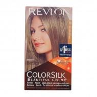 Farba bez Amoniaku Colorsilk Revlon Ciemny popielaty blond