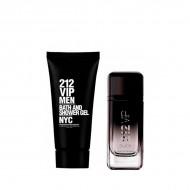 Souprava spánským parfémem 212 Vip Black Carolina Herrera (2 pcs)