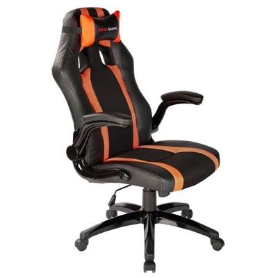 Fotel dla Graczy Tacens MGC2BO PU Czarny Pomarańczowy