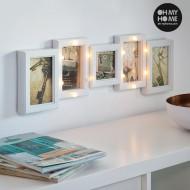 LED Rámček na Fotky Oh My Home (5 fotiek)