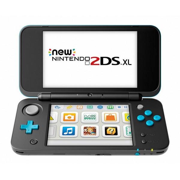 Nintendo New 2DS XL Sony 223594 4 GB microSDHC Černý Tyrkysová