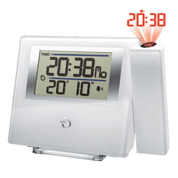 Radiobudzik z projektorem LED Oregon Scientific RM-368-P LCD Biała