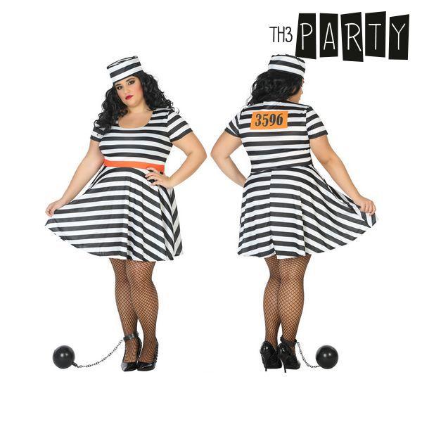 Kostým pro dospělé Th3 Party Vězenkyně - XXL