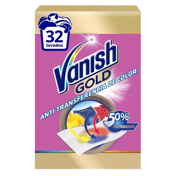 Chusteczki Chłonące Kolory Vanish Gold (12 szt)