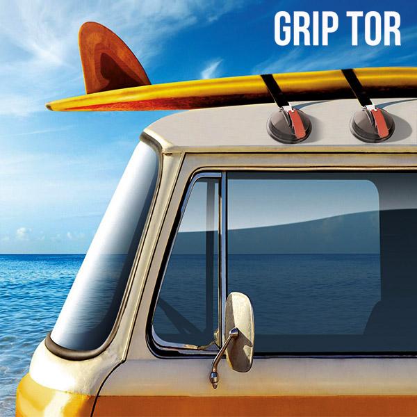 Uchwyty na Dach Samochodu Grip Tor (2 sztuki)