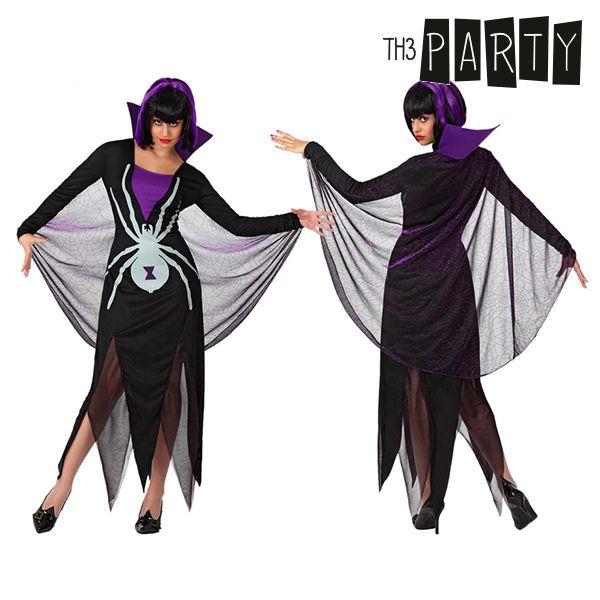 Kostium dla Dorosłych Th3 Party Czarna wdowa - XL