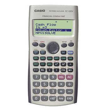 Kalkulator Casio FC100V Szary