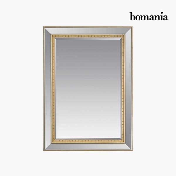 Lustro Żywica syntetyczna Szkło fazowane Srebrzysty Złoty (80 x 4 x 110 cm) by Homania